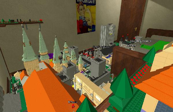 Crie castelos como se estivesse brincando de Lego (Foto: Reprodução/Yuki)