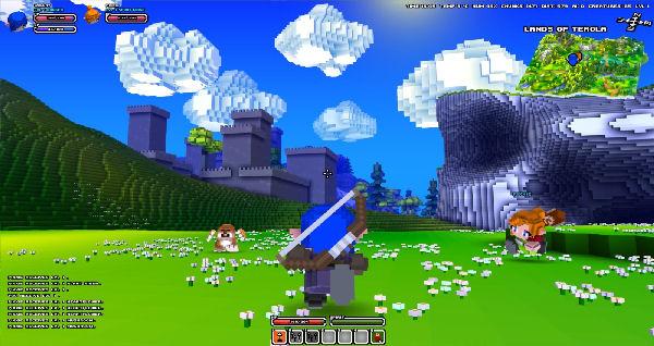 Lindos mundos e uma jogabilidade semelhante à Zelda (Foto: Divulgação)