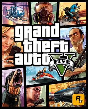 Capa de GTA 5 (Foto: Divulgação)