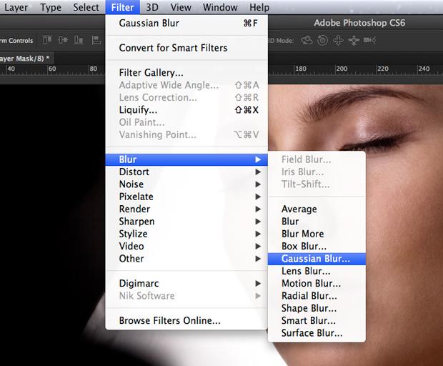 Aplique o filtro Gaussian Blur. (Foto: Reprodução/André Sugai)