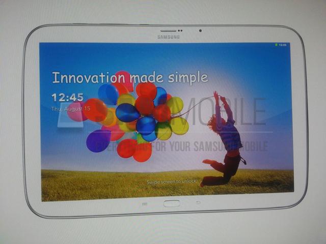 Fotos do suposto Galaxy Tab Plus apontam mudanças no botão de home e design semelhante ao Note 8. (Foto: Reprodução /  SamMobile)