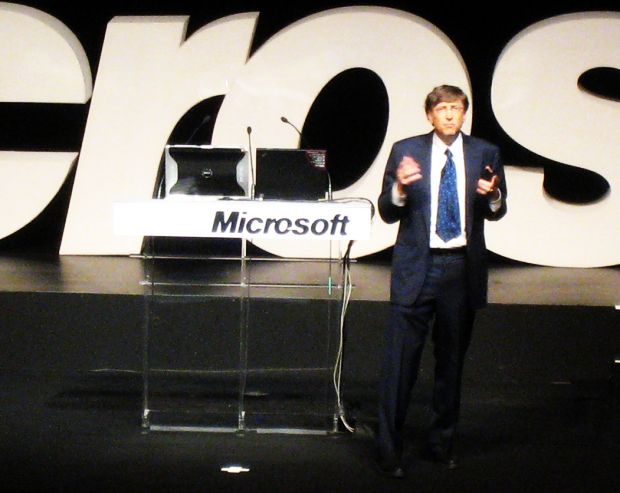 Bill Gates, uma dos mentores que criou a Microsoft (Titanas/Flickr/Creative Commons)