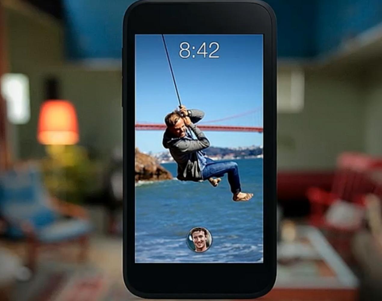 Mark Zukemberg apresenta o Home (Foto: Reprodução/Facebook)