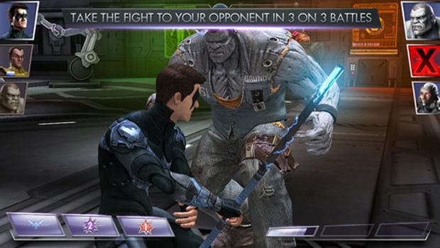 Personagens de Injustice dos consoles estão neste jogo (Foto: Divulgação)