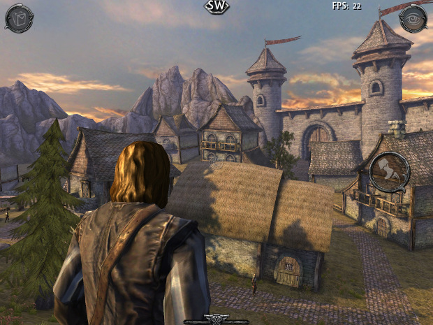 Um grande mundo aberto está a disposição do jogador em Ravensword: Shadowlands (Foto: Divulgação)