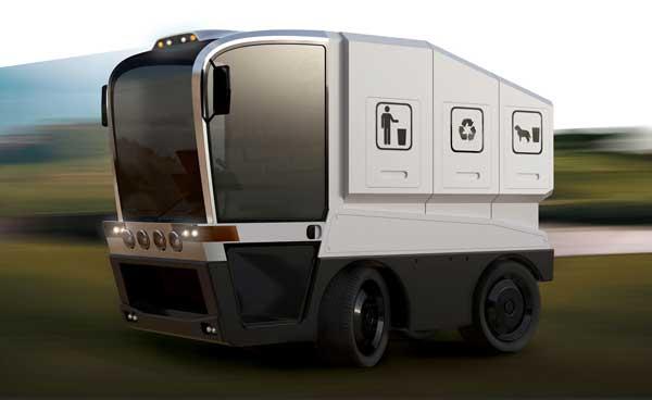 O projeto do caminhão multifuncional mostra um veículo pequeno e leve, com o espaço bem otimizado (Foto: Reprodução/ Yanko Design)