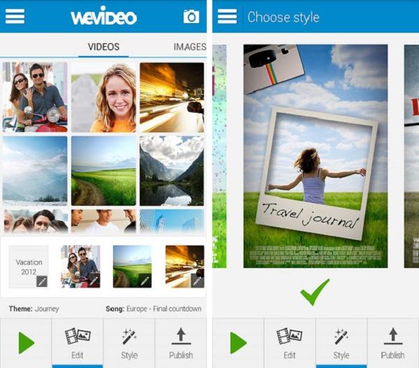 WeVideo é um editor de vídeos bem simples para qualquer um (Foto: Divulgação)