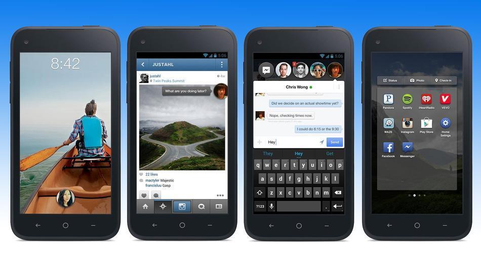 Facebook Home muda toda a cara do Android (Foto: Divulgação)