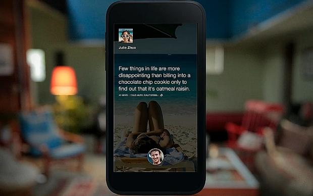 Facebook Home estará disponível apenas para Android (Foto: Divulgação) (Foto: Facebook Home estará disponível apenas para Android (Foto: Divulgação))