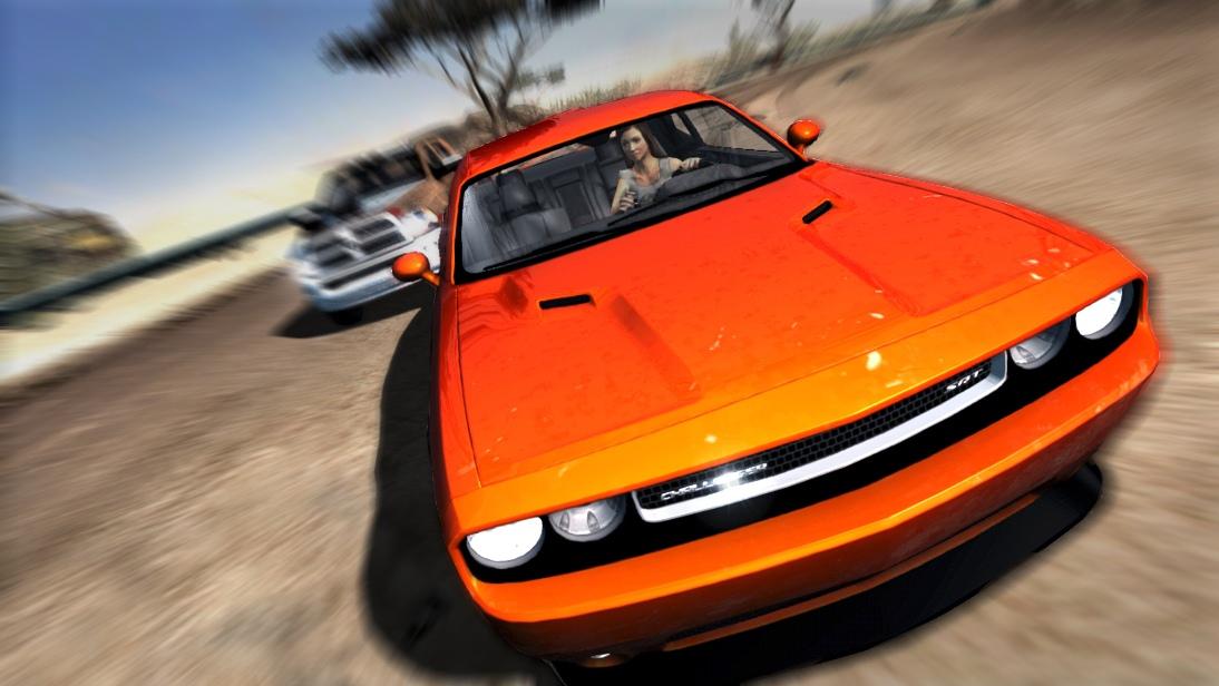 Fast & Furious: Showdown terá carros licenciados, como o Dodge Challenger SRT (Foto: Divulgação)