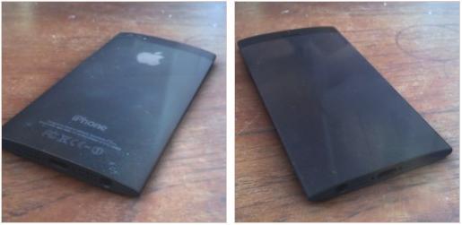 iPhone 5S: design ainda mais fino e display curvado nas bordas (Foto: Reprodução/GSMarena)