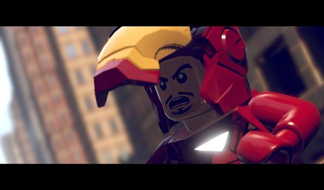 Tony Stark na armadura do Homem de Ferro, em versão Lego (Foto: Divulgação)