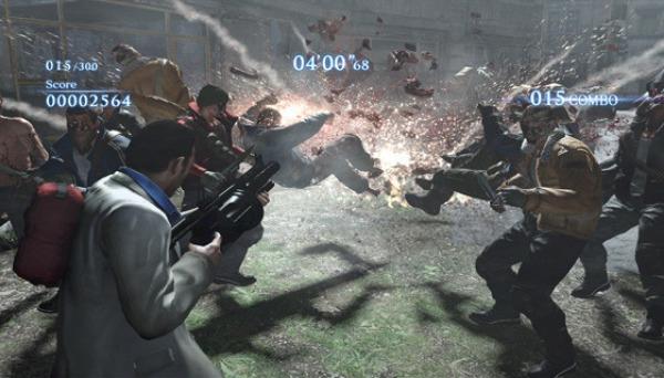 Nick faz uso do lança-granadas para explodir alguns mortos-vivos (Foto: Divulgação) (Foto: Nick faz uso do lança-granadas para explodir alguns mortos-vivos (Foto: Divulgação))