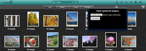 Interface do Seagate Media (Foto: Reprodução/ Techtudo)