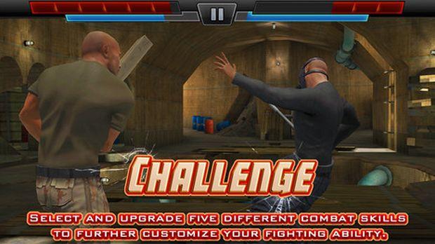 The Rock em um novo game do WWE (Foto: Divulgação/Apple)