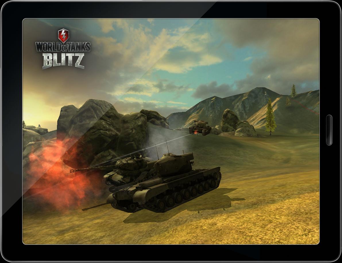 Tanques de tirar o fôlego no novo WoT Blitz
