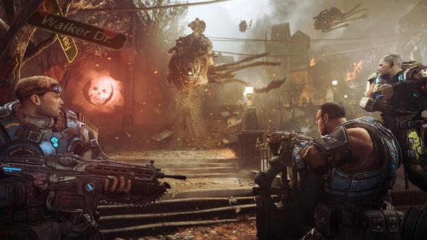 As hordas de inimigos vêm com tudo em Gears of War: Judgment (Foto: Divulgação)