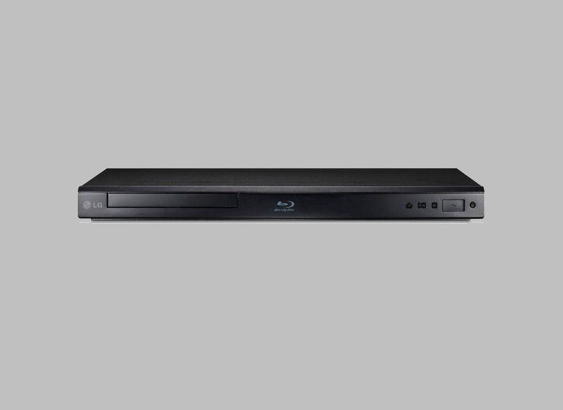 Blu-Ray da LG, apesar de conectar com a web, não tem memória interna (Foto: Divulgação/LG)