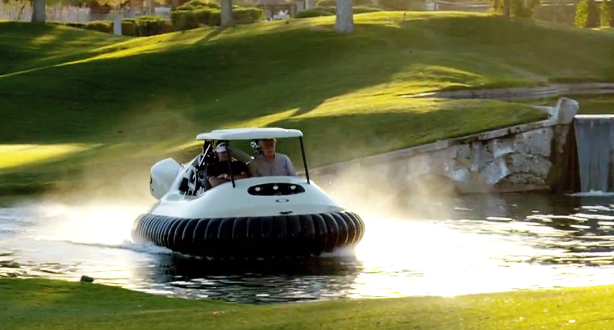 Bubba Hovercraft (Foto: Neoteric Hovercraft)