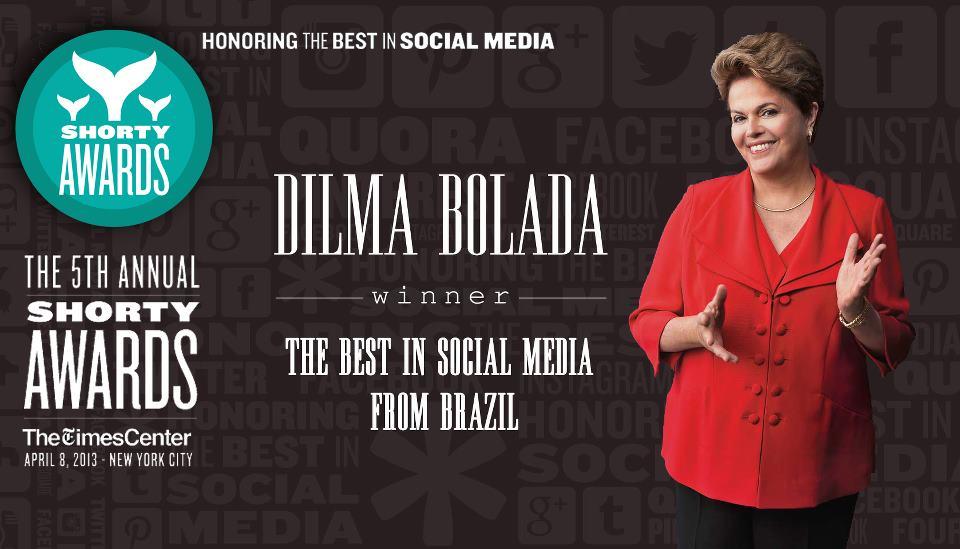 'Dilma Bolada' foi bicampeã no Shorty Awards, o Oscar do Twitter (Foto: Divulgação)