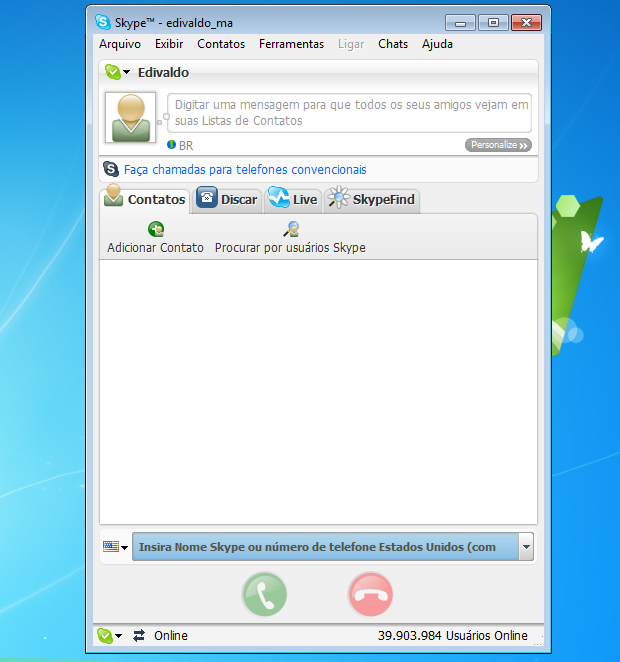 Skype Find era uma ferramenta útil (Foto: Reprodução/Edivaldo Brito)