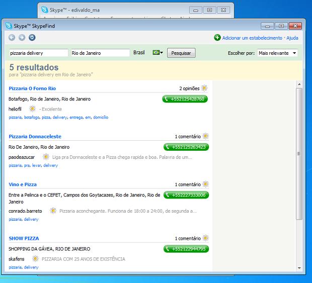 SkypeFind permite achar o que você precisar (Foto: Reprodução/Edivaldo Brito)