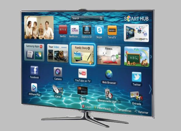 Smart TV da Samsung, Serie 7 (Foto: Divulgação/Samsung)