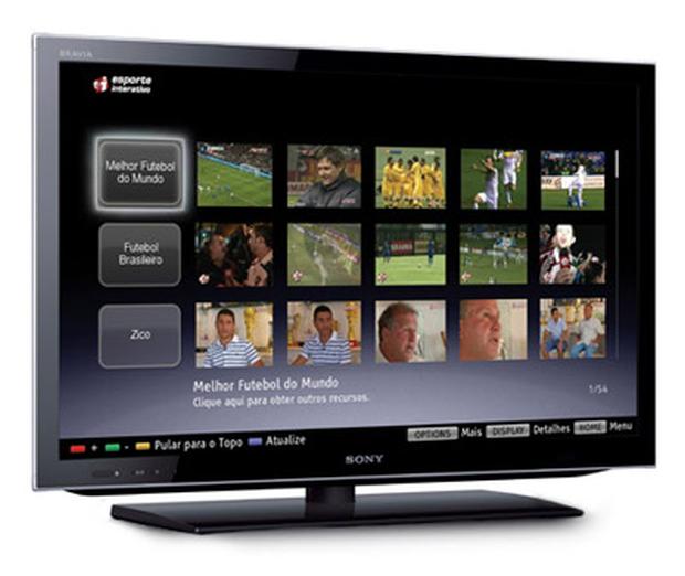 Sony aposta em uma smart TV com integração com smartphones (Foto: Divulgação/Sony)