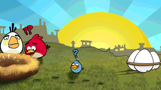 Utilize diferentes pássaros para resgatar os itens. (Foto: Divulgação) (Foto: Utilize diferentes pássaros para resgatar os itens. (Foto: Divulgação))
