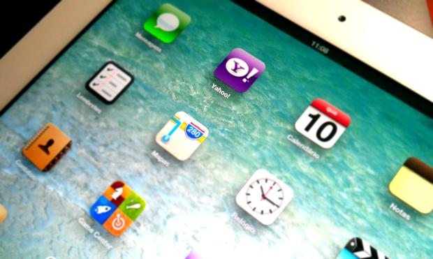 Apple e Yahoo! planejam aumentar sua parceria no iOS (Foto: Leonardo Martins Rodrigues)