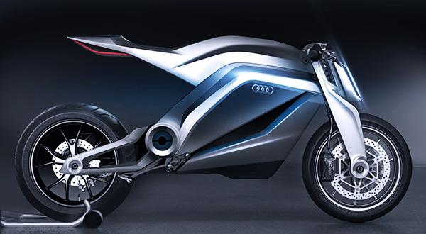 Moto conceitual tem design arrojado combinando Audi e Ducati (Foto: Reprodução Yanko Design)