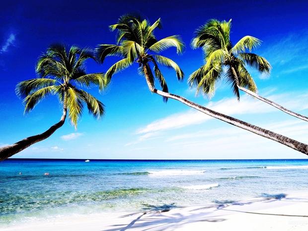 Fotografia com afeito praia criado no Photoscape (Foto: Reprodução/ Raquel Freire)