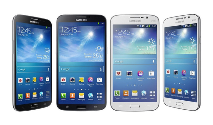 Galaxy Mega 6.3 e 5.8: os novos foblets da Samsung (Foto: Divulgação/Samsung)