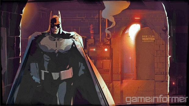 Arkham Origins Blackgate terá jogabilidade diferenciada (Foto: Reprodução/Game Informer)