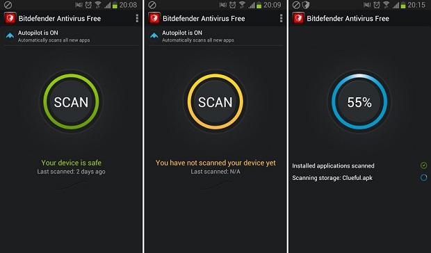 BitDefender ajuda a proteger seu smartphone Android (Foto: Divulgação)