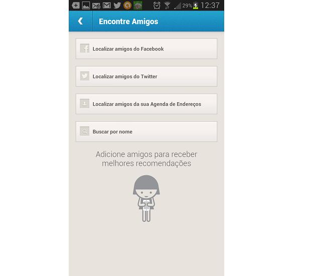 São muitos métodos de adição de contatos (Foto: Reprodução Thiago Barros)