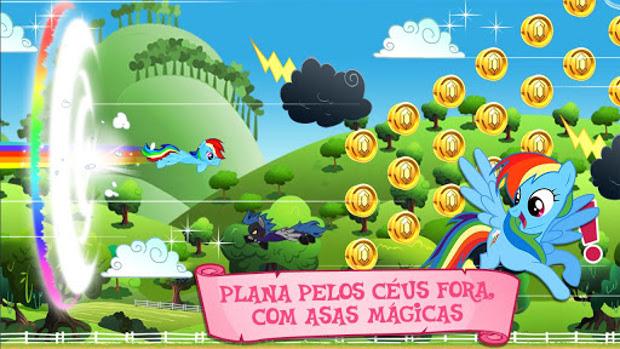My Little Pony tem mini-games para todas as idades (Foto: Divulgação)