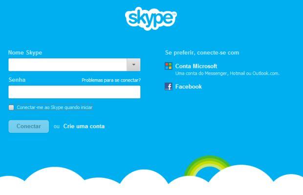 O Skype brasileiro é 6% do público mundial (Foto: Divulgação/Skype)