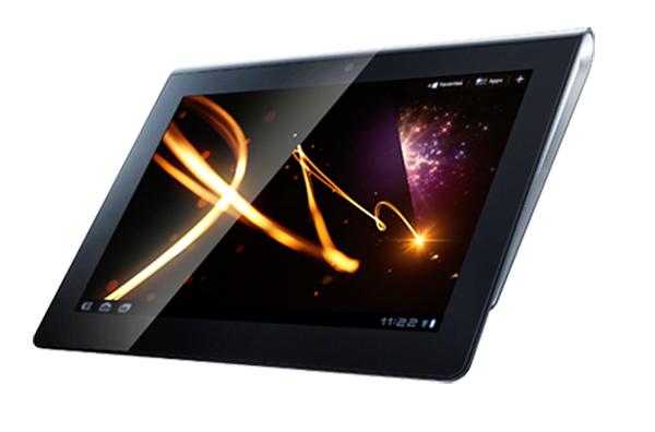 Tablet da Sony se assemelha a um livro (Foto: Divulgação)