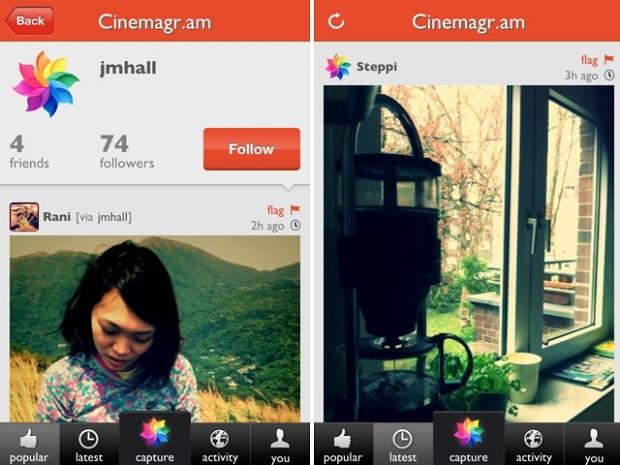 Cinemagram leva todo o estilo Instagram para os vídeos (Foto: Divlugação)