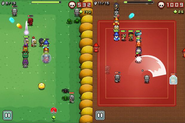 Snake e RPG é uma receita que dá certo em Nimble Quest (Foto: Divulgação)