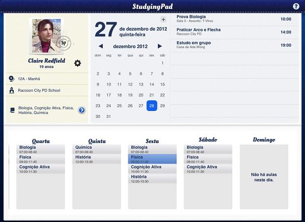 StudyingPad, um gerenciador para sua vida acadêmica (Foto: Divulgação)