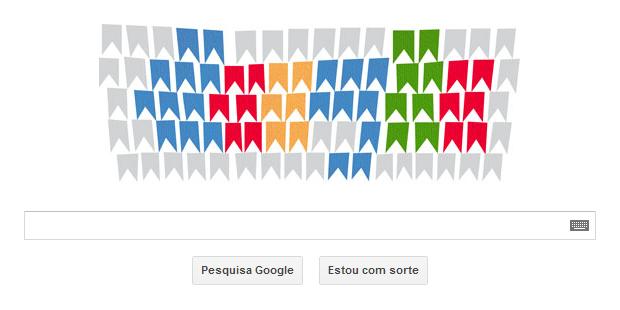 Alfredo Volpi é homenageado por Doodle do Google (Foto: Reprodução/Ricardo Fraga)