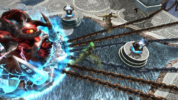 Dragons and Titans é MOBA produzido pela Zynga (Foto: Divulgação)