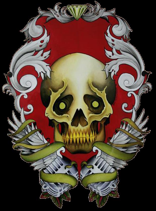 Tatuagem em PNG (Foto: Reprodução)