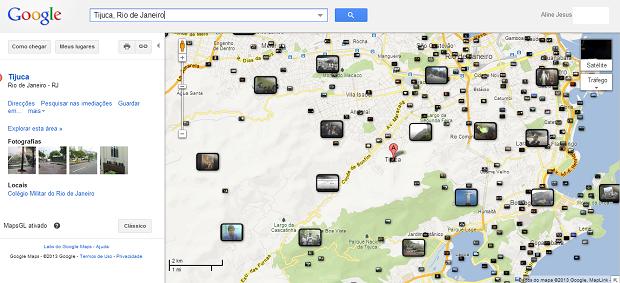 Vídeos do YouTube podem ser encontrados por localidade específica no Maps (Foto: Aline Jesus/Reprodução)