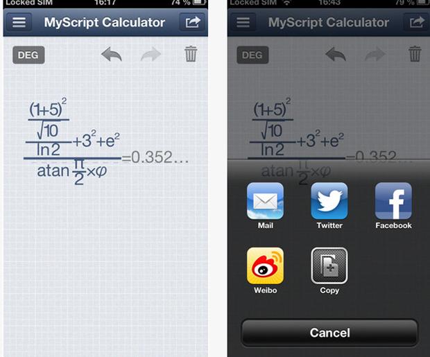 MyScript Claculator (Foto: Divulgação)