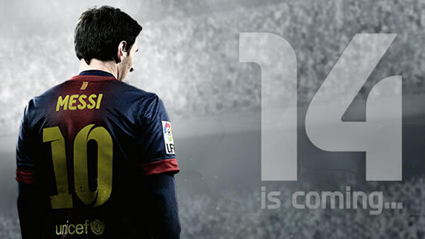 Lionel Messi estampa imagem teaser de Fifa 14 (Foto: VG247) (Foto: Lionel Messi estampa imagem teaser de Fifa 14 (Foto: VG247))