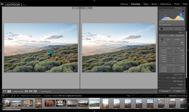 Versão Beta do Adobe Photoshop Lightroom 5 (Foto: Divulgação)