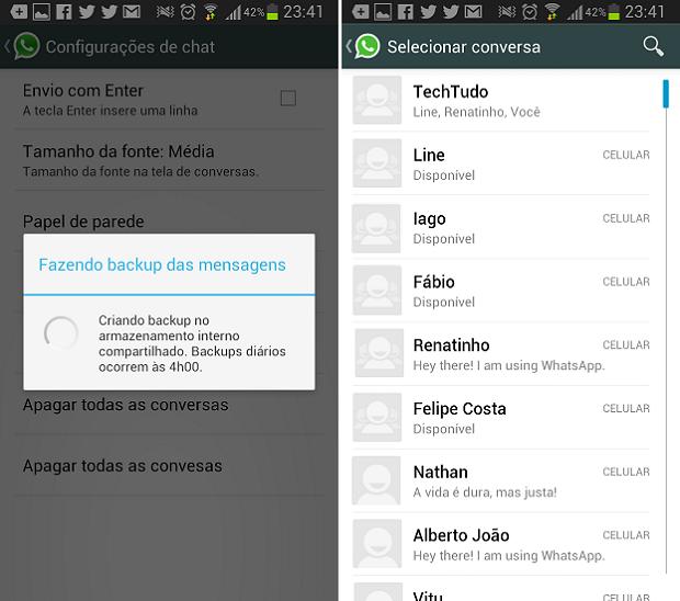 Como Configurar Suas Preferências De Bate Papo No Whatsapp Dicas E